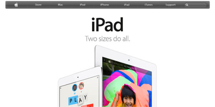 interent marketing ipad